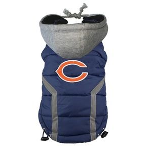 Chicago Bears NFL Dog Puffer Vest